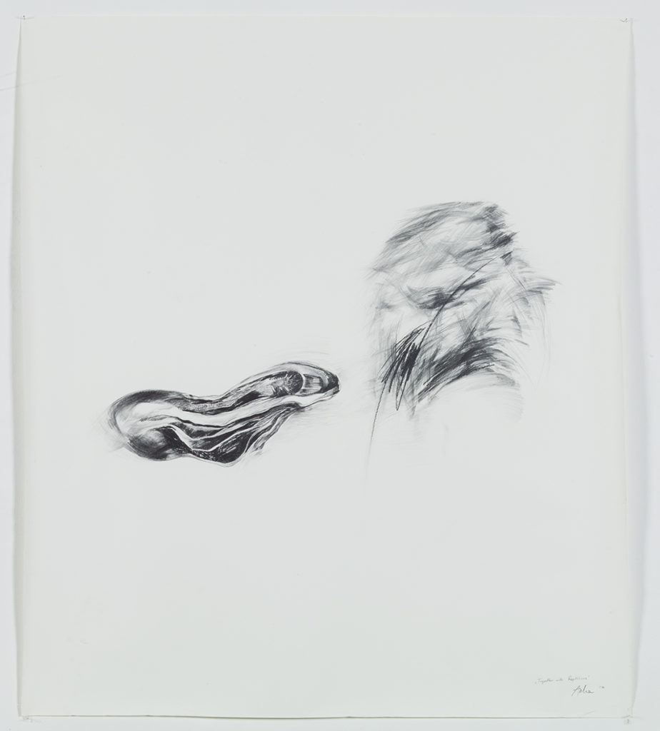 together with reptilicus, pencil 120/150cm, 2010
